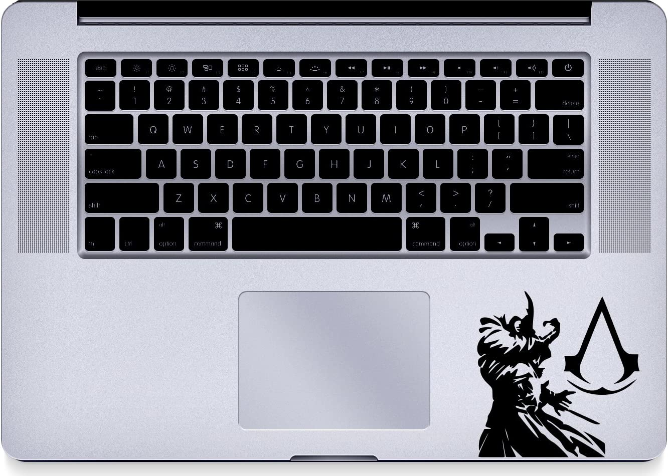 Assassins - Creed - Trackpad - Macbook - Decal - Keyboard