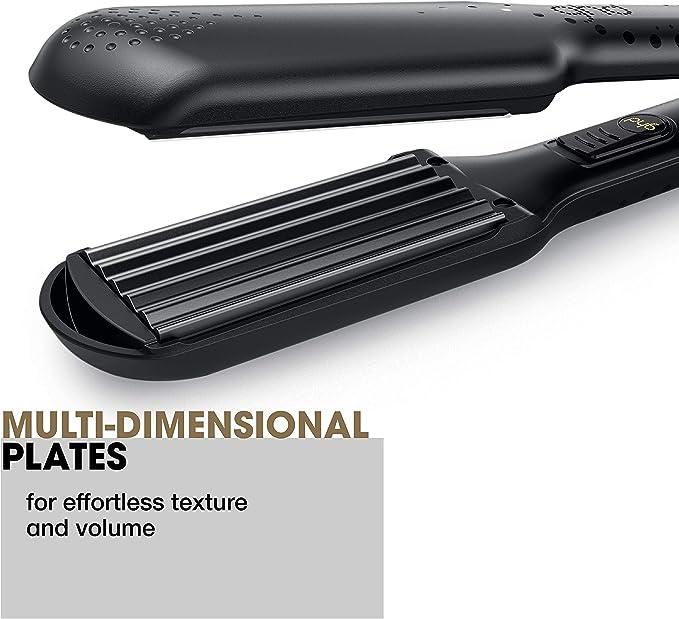 ghd contour - Ondulador profesional, calentamiento en 30 segundos a 180ºC, placas contorneadas y multidimensionales: Amazon.es: Belleza