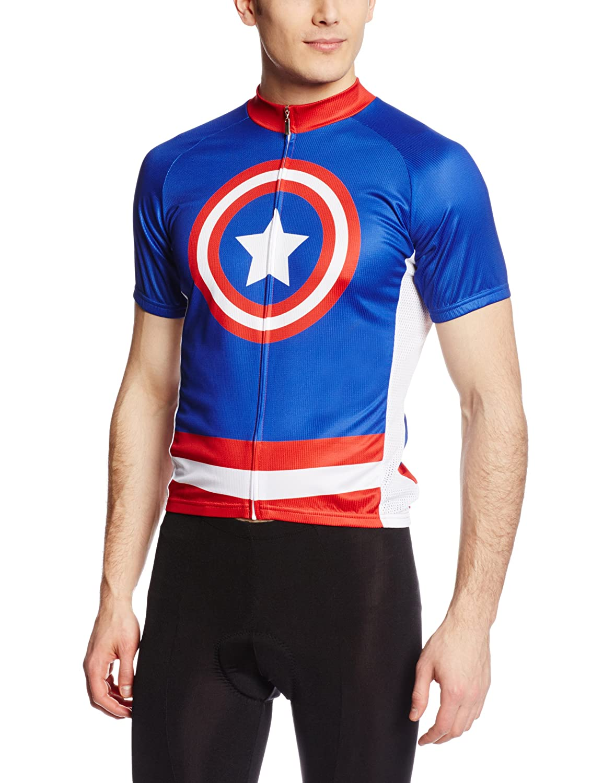83 Herren Sportswear Super Hero Radfahren Jersey