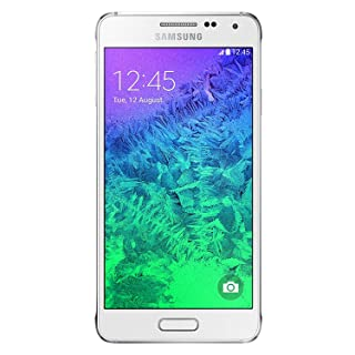 Samsung Galaxy Alpha G850a Unlocked Cellphone, 32GB, Dazzling White