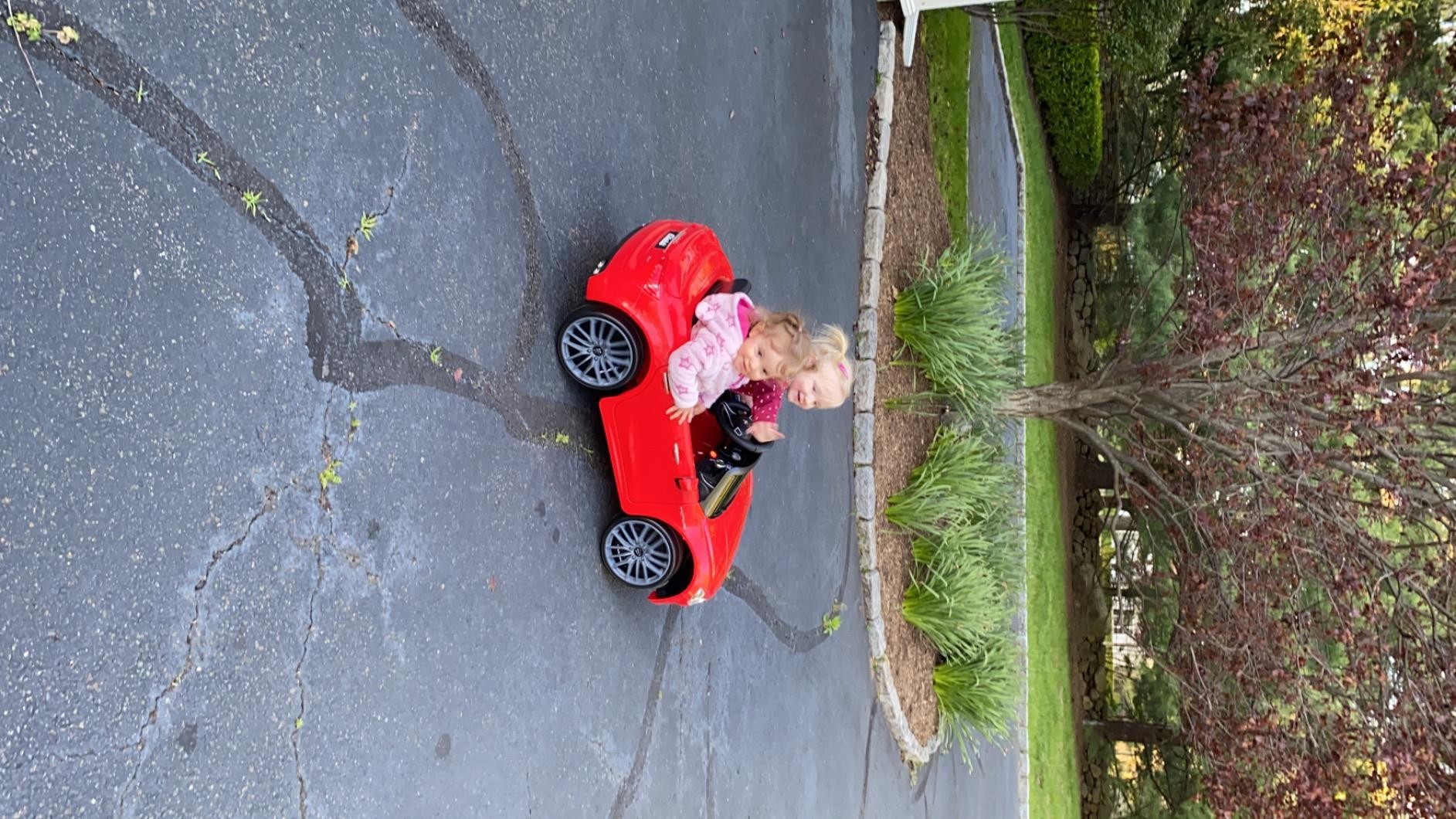 Maserati Kids Car 12V Ride On With Remote, Red photo review