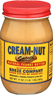 product image for Cream Nut Peanut Butter Natural, 17 oz