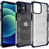 Restoo Compatible with iPhone 12 Mini Case,Anti-Slip Hard Armor Shockproof Case with Full Body Rugged Heavy Duty Protection f