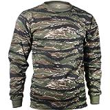 Rothco Long Sleeve T-Shirt/Tiger Stripe