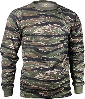 49eb83030fbe Amazon.com: Rothco Long Sleeve Camo T-Shirt: Sports & Outdoors