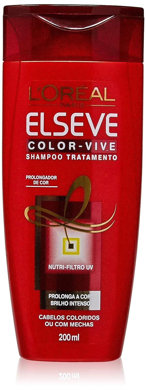 9d4ad2ccd Shampoo Colorvive Elseve 200 ml, L'Oréal Paris: Amazon.com.br: Beleza
