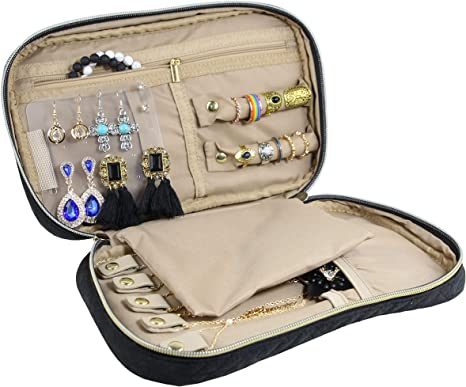 Jewelry Organizer Bag Travel Jewelry Storage Cases for Necklace Earring S