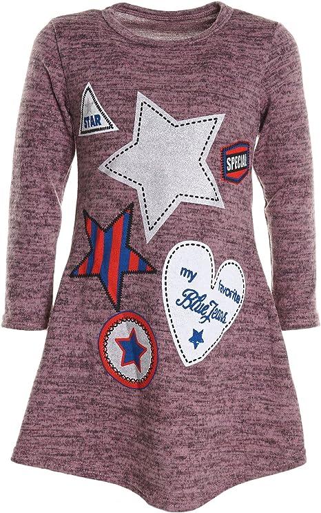 BEZLIT - Blusa - Camisa - Paisley - Cuello Redondo - Manga Larga - para niña Rosa 152 cm/12 Años: Amazon.es: Ropa y accesorios