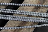 "HSI 5/8"" x 16' Single-Leg Wire Rope Sling 