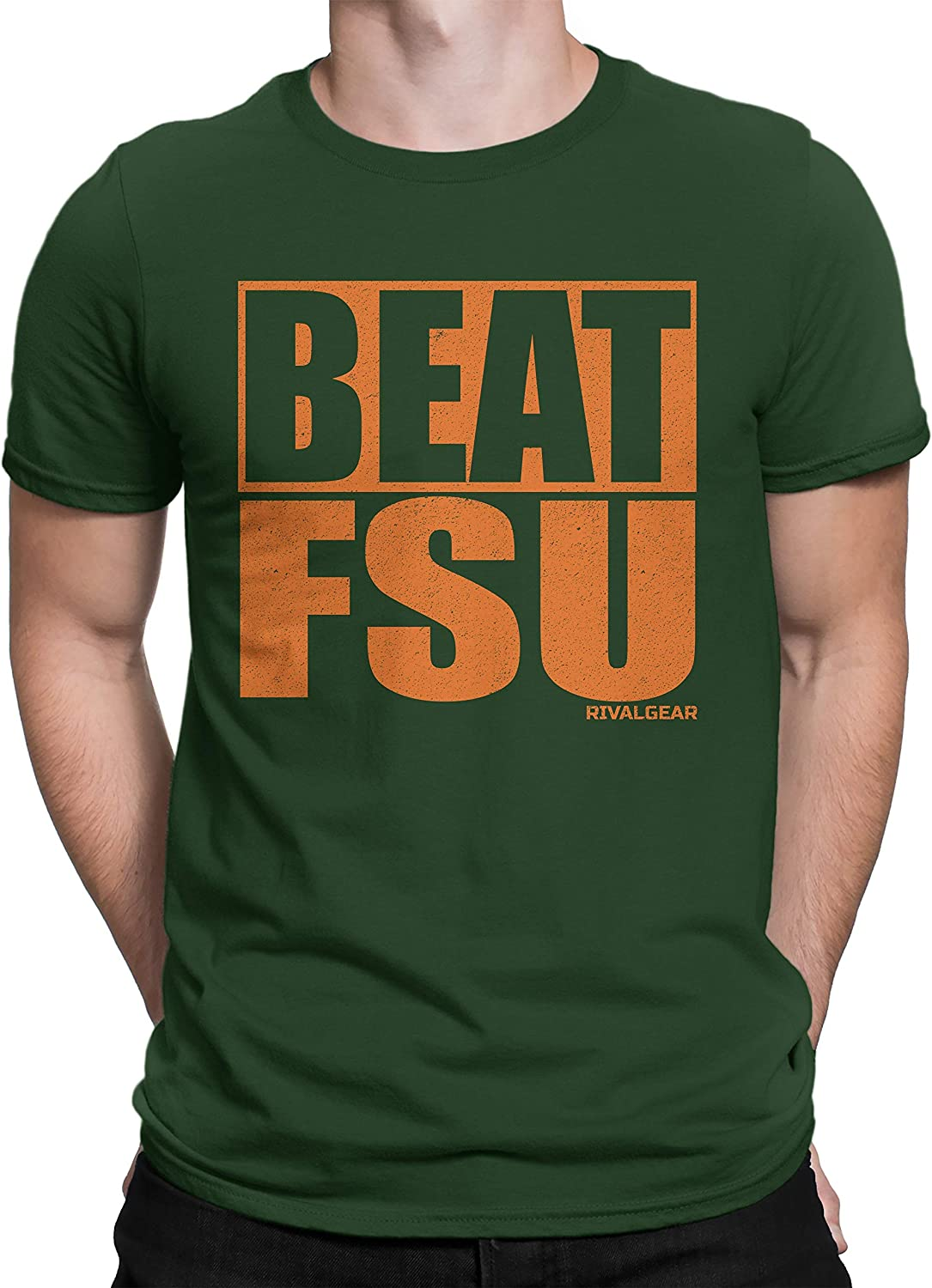 Amazon Com Fsu Haters Beat Fsu T Shirt For Fans In Miami Clothing