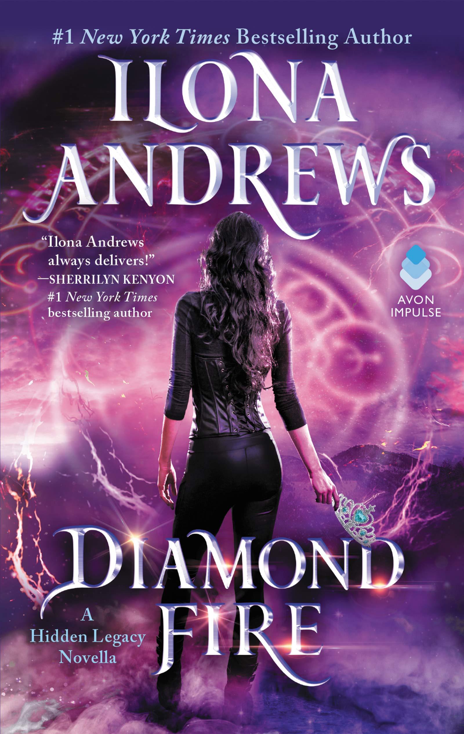 Image result for diamond fire ilona andrews