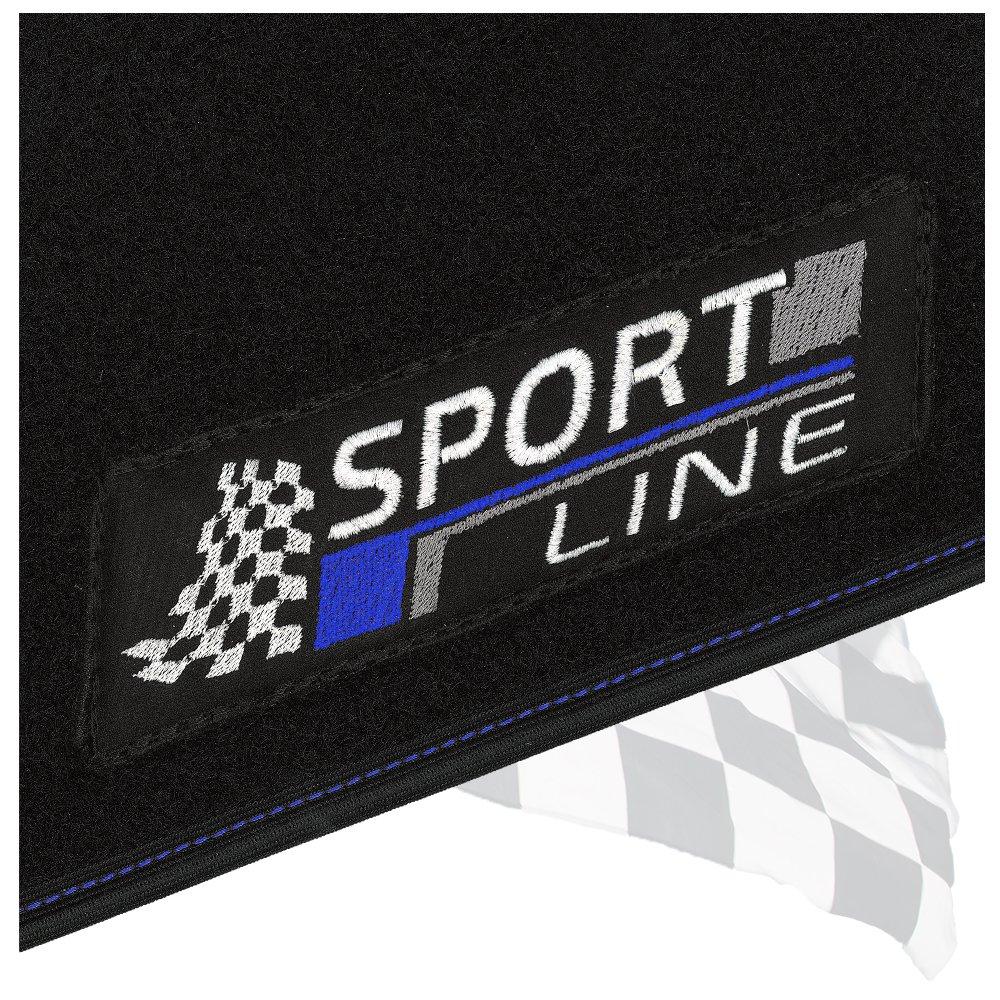 Automatten Fußmatten Logo Limited Edition Audi A3 8L 1996 bis 2003 3 /& 5 trg