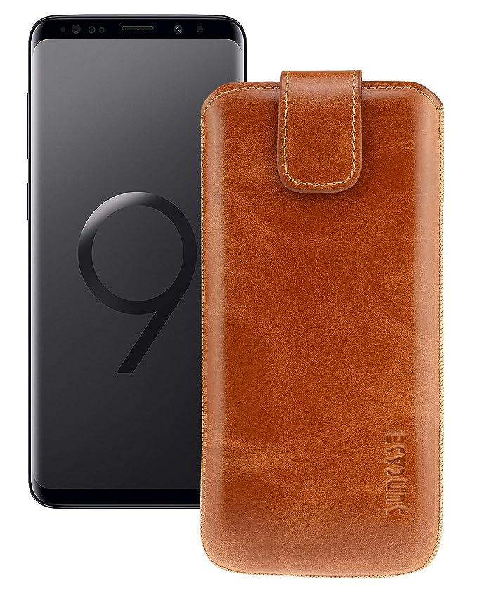 Suncase Original Funda para Samsung Galaxy S9 con Adicional ...