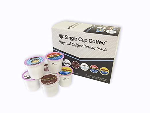 Single Cup Coffee Original Variety Pack (6 Blends) (88)