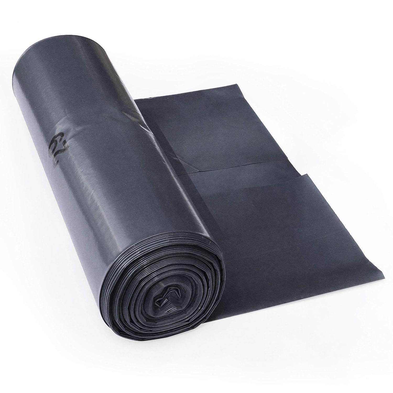 ProfessionalTree 120 L sacchi per la spazzatura - estremamente resistenti allo strappo - rotolo da 25 - tipo 100 extra - sacchi per la spazzatura XXL sacco dell'immondizia - 70μ - 700x1100 mm - LDPE - smaltimento dei rifiuti perfetto per la casa, il giardi