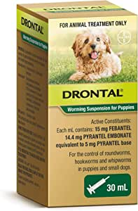 Drontal Puppy Oral Suspension, 30ml