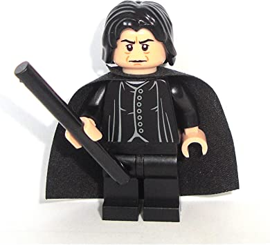 LEGO Harry Potter: Profesor Snape Minifigura Con Negro Varita Mágica