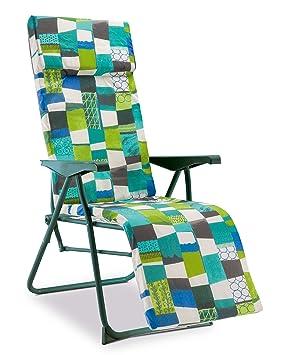 34bb18a06 Solenny Tumbona, verde, 76x59x15 cm, 50001001160040: Amazon.es: Jardín