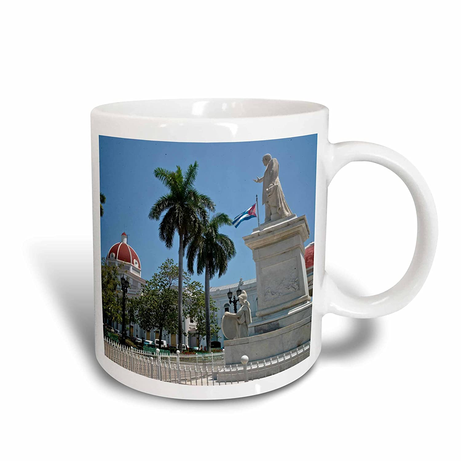 Buy 3drose Jose Marti Monument At Parque Marti In Cienfuegos Ceramic Mug 11 Ounce Mug 56756 1 Online At Low Prices In India Amazon In