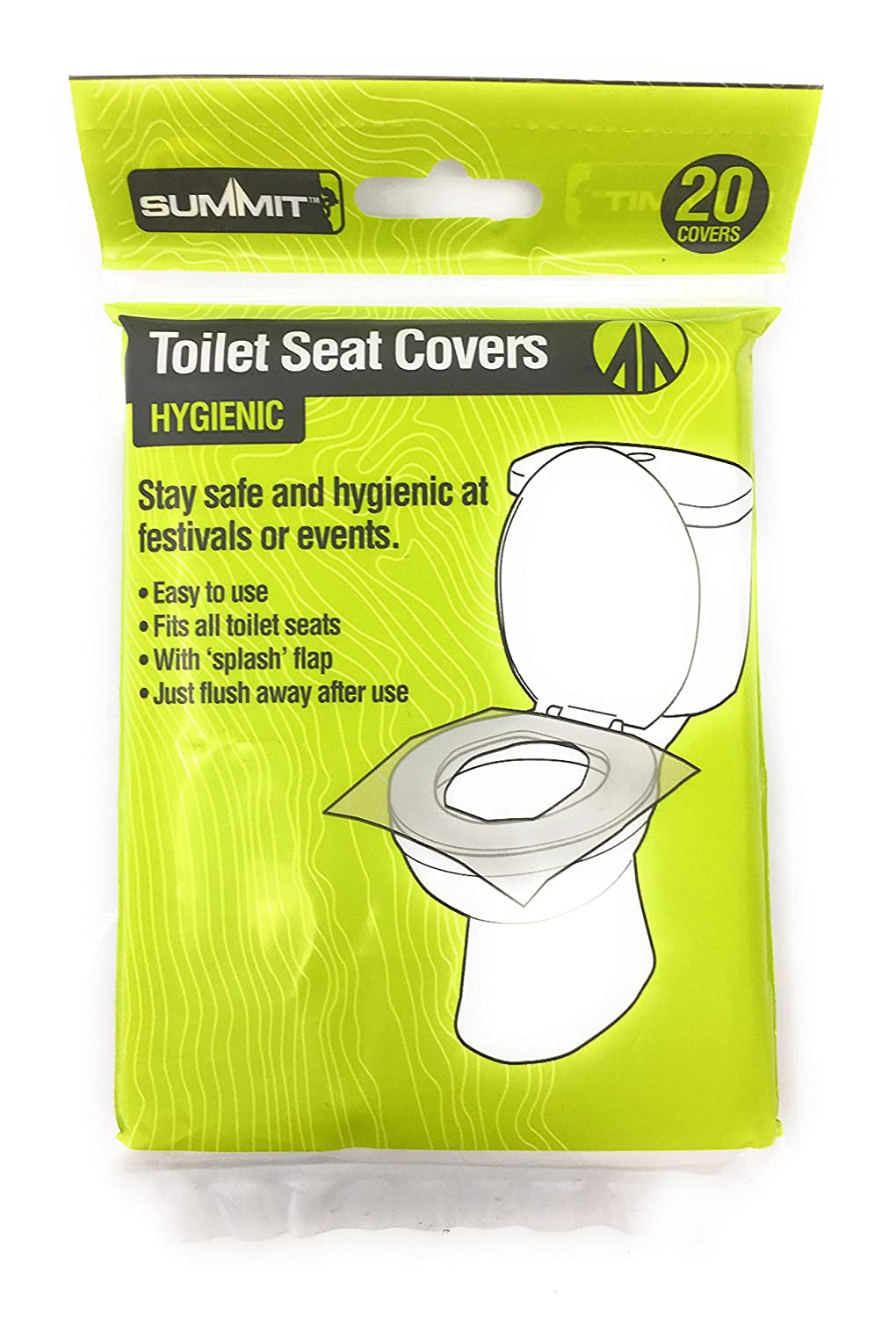Enjoyable Pms Festival Camping Toilet Seat Covers Pk 20 Gmtry Best Dining Table And Chair Ideas Images Gmtryco