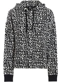 Moncler 9234AA Felpa Bimbo Boy White Cotton Hoodie Sweatshirt