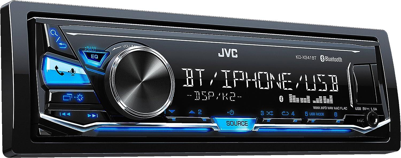 JVC KD XBT Bluetooth Negro receptor multimedia para coche Radio para coche