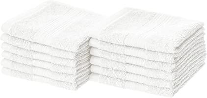 Amazon Basics Juego de Toallas de algodón Decorativas, Resistentes