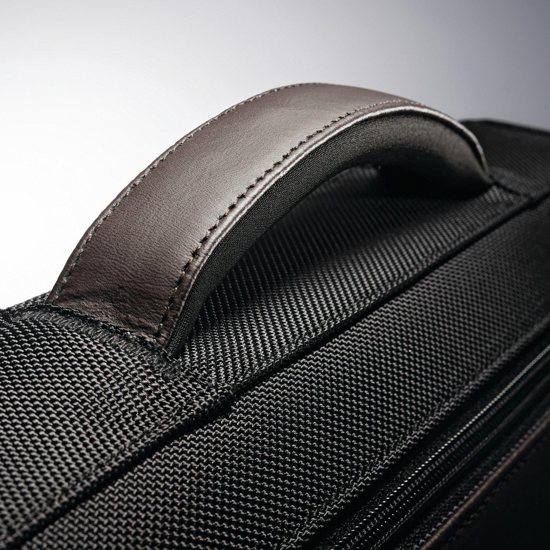 Samsonite Kombi Flapover Briefcase, Black/Brown by Samsonite (Image #10)