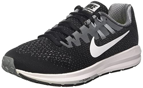 Nike Air Zoom Structure 20, Zapatillas de Trail Running para Hombre, Negro (Black/White/Cool Grey/Wolf Grey), 41 EU