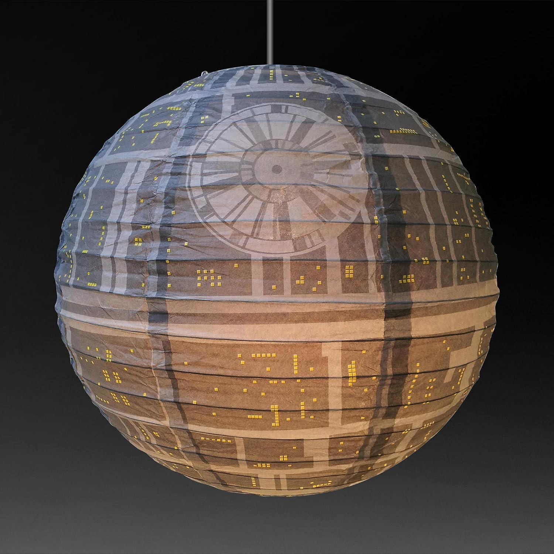 Groovy Star Wars Death Star Paper Light Shade Lamp Shade