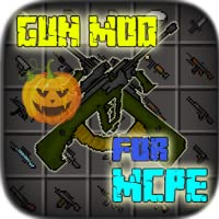 Gun Mod for MCPE Top Up Pro Full Set New Halloween