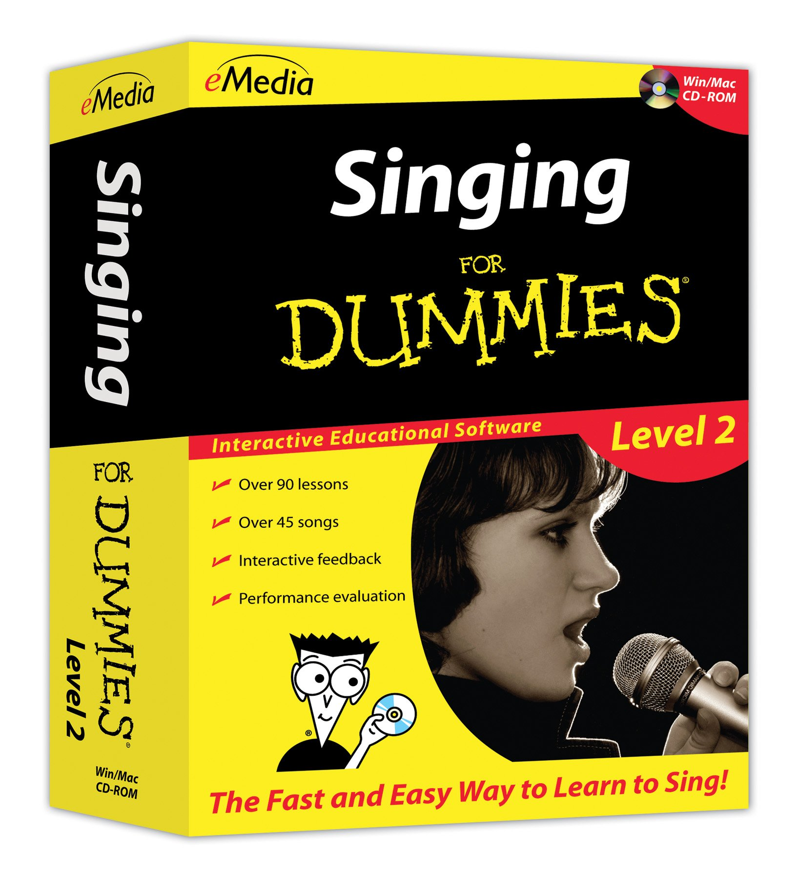 eMedia Singing For Dummies Level 2