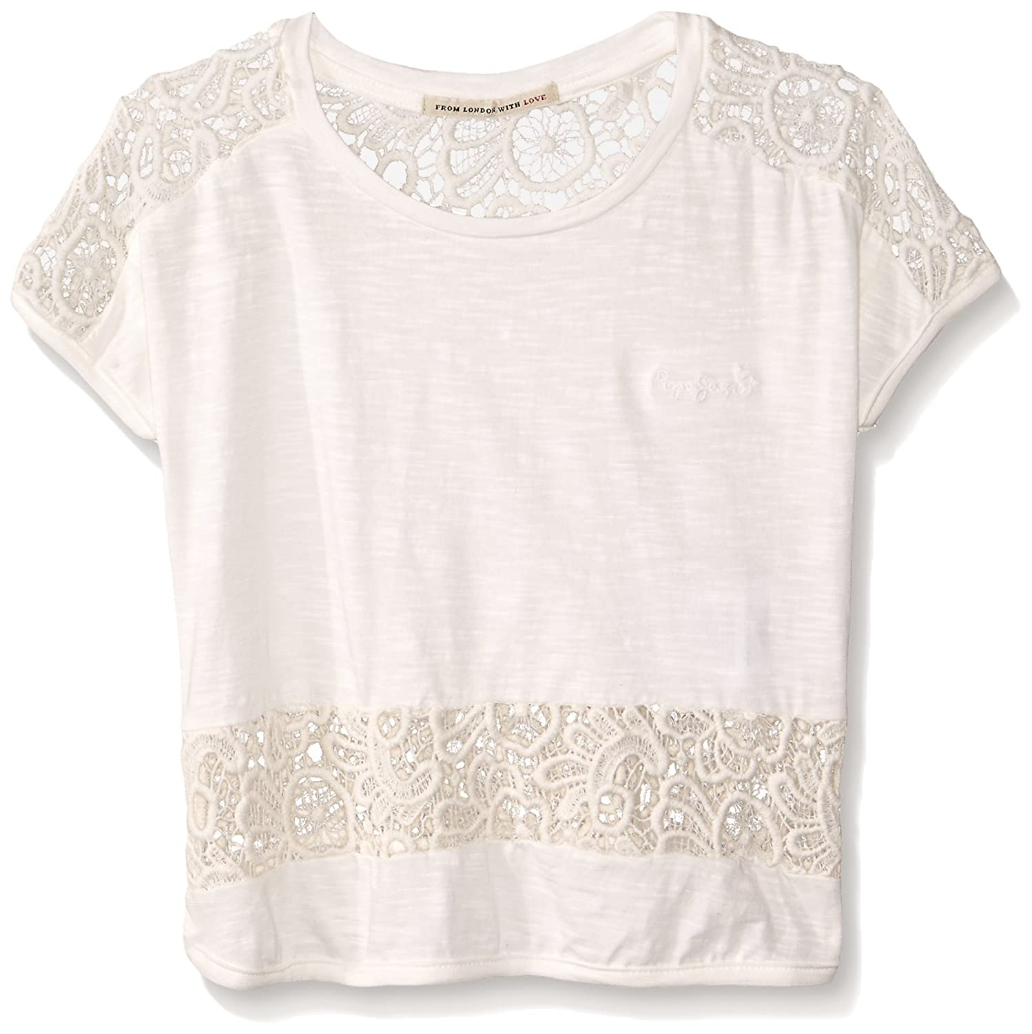T- Shirt Pepe Jeans Colombia 12 Blanc