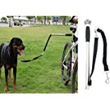 Dog Bicycle Exerciser Leash, Hands Free Dog Leash, Stainless Steel