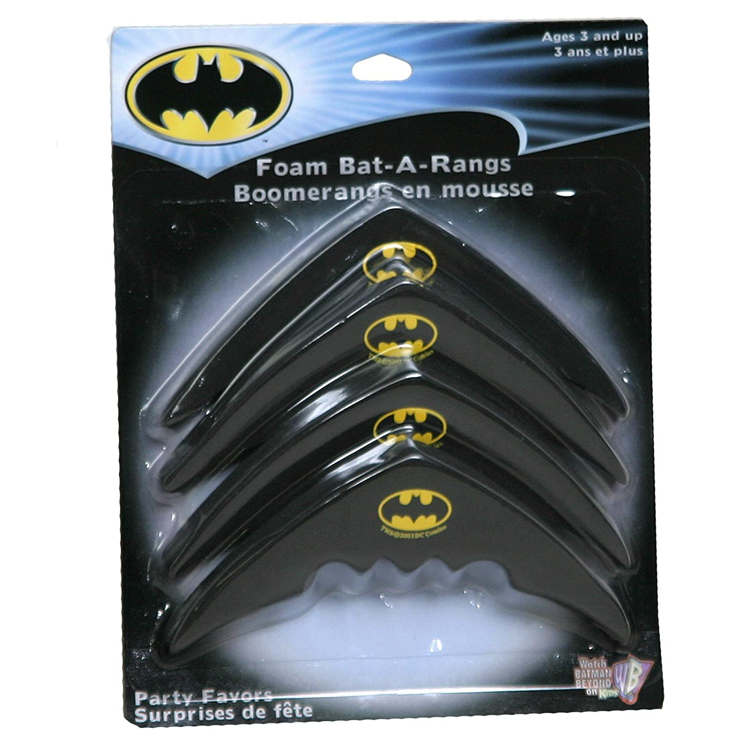 Batman Foam Bat-A-Rangs (4 count)
