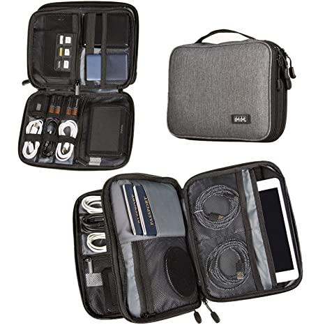 4ff2e01dd Dot Dot Travel Tech Organizer - Electronic Cord Organizer Travel Carrying  Case for Charger