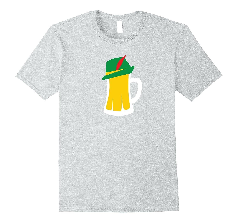 fd34afe4d Beer Mug Wearing German Hat Oktoberfest Shirt Funny Gift-TJ – theteejob