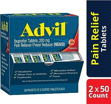 Amazon.com: Advil - Tablet con revestimiento reductor de ...