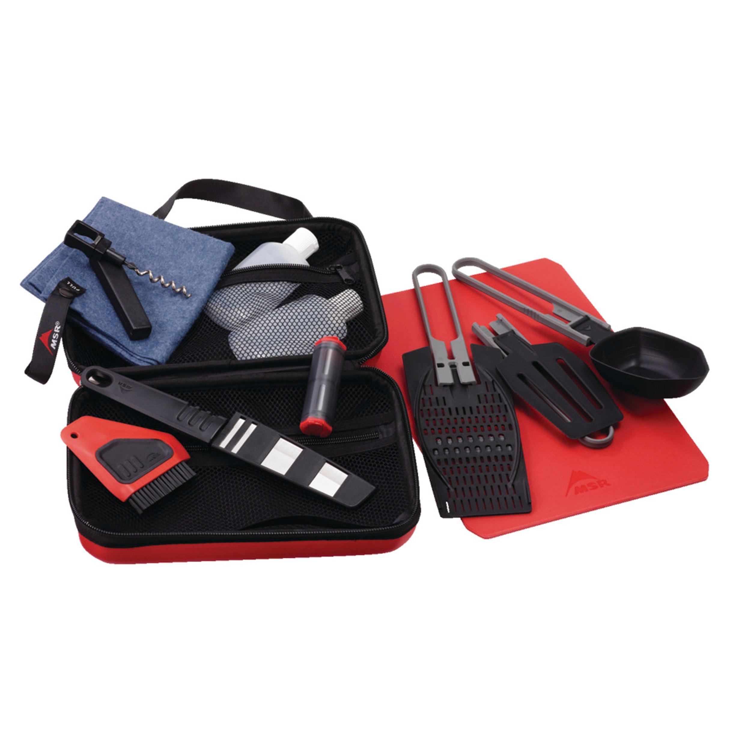 MSR Alpine Deluxe Kitchen Set , Red/Black