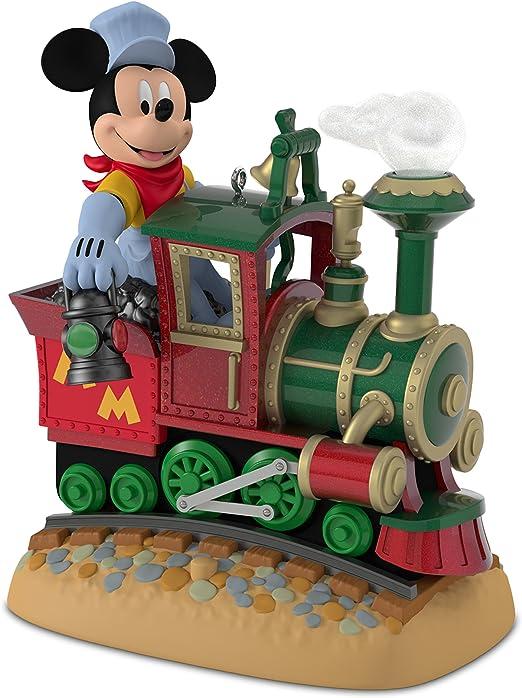 2017 Hallmark Keepsake ornament in original box Mickey/'s Magical Railroad