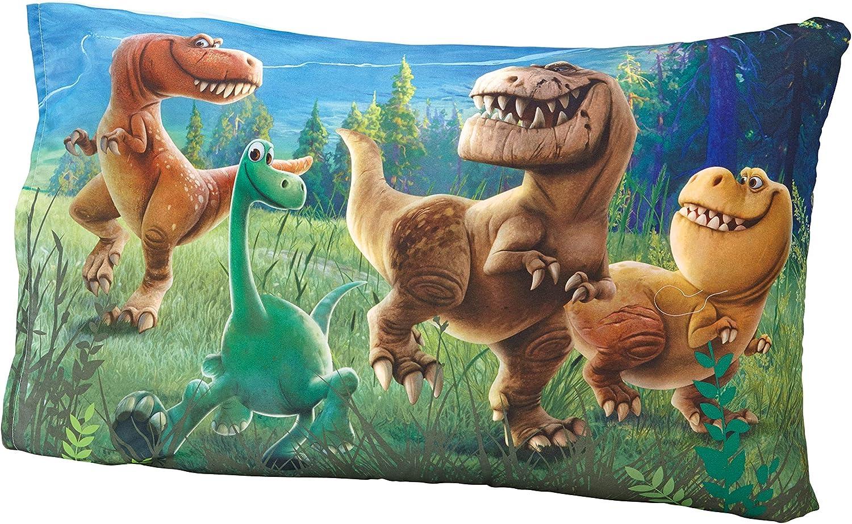 Disney Good Dino Arlo Friends 4 Piece Toddler Bed Set Blue Green Tan Amazon Ca Baby