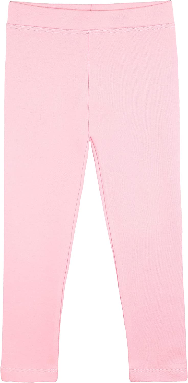 -Multiple Colors-9-10 Years Pack of 6 Indistar Big Girls Cotton Full Ankle Length Solid Leggings