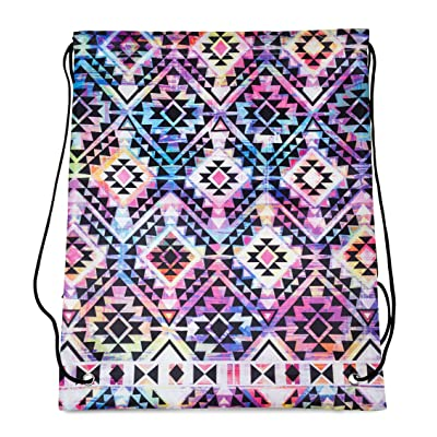 60%OFF Tribal Aztec Drawstring Backpack