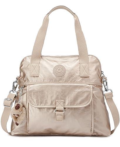 638366dd65 Amazon.com: Kipling Pahneiro Metallic Handbag Toasty Gold: Shoes