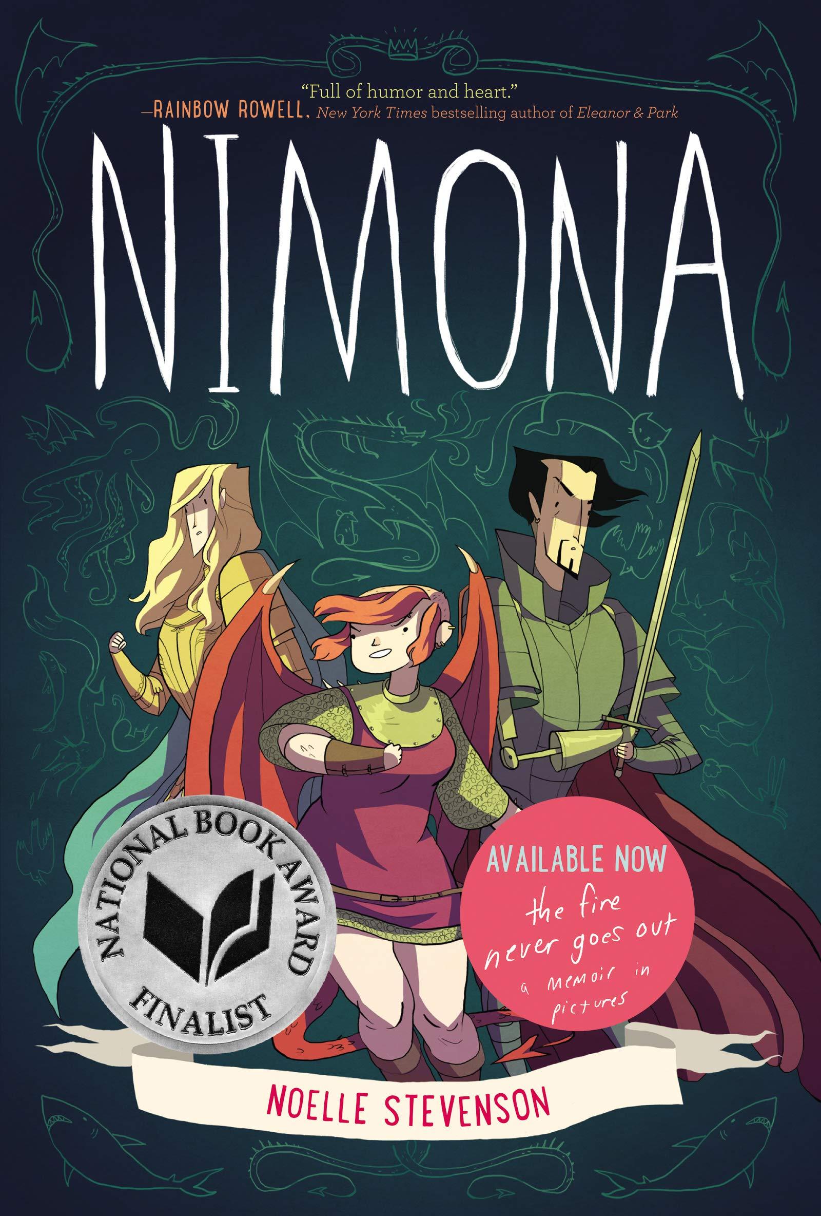 Amazon.com: Nimona: 9780062278227: Stevenson, Noelle, Stevenson, Noelle:  Books