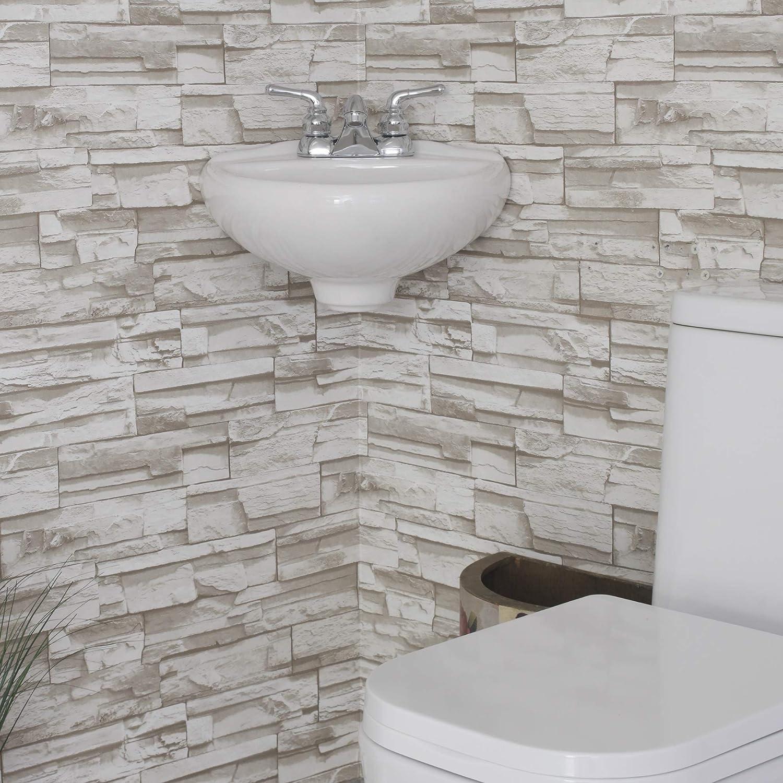 Ceramic Corner Wall Mount Bathroom 15.25 Sink Single Hole