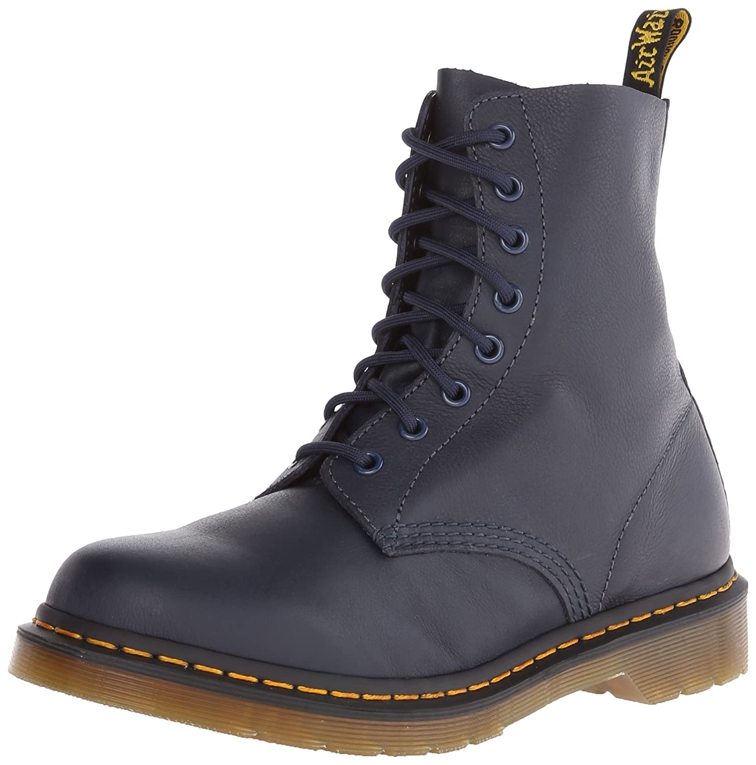 Dr. Martens Women's B00SVE8VJE Pascal Leather Combat Boot B00SVE8VJE Women's 8.5 B(M) US|Blue 284ec1