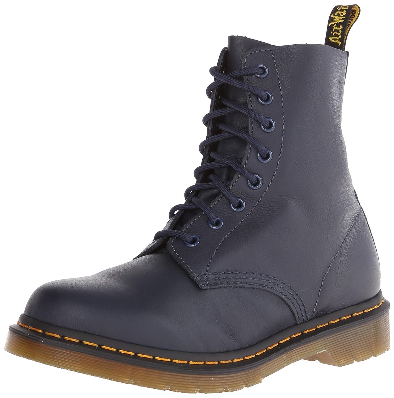 Dr. Martens Women's Pascal Leather Combat Boot B00IJNKLK4 6 M US|Dress Blues