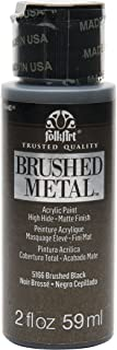 product image for FolkArt Brushed Metal Paint in Assorted Colors (2 oz), Black
