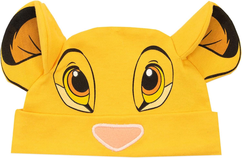 Disney B/éb/é Gar/çon Le Roi Lion Ensemble de Dors Bien et Bonnet Simba